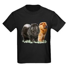 red and black chows T