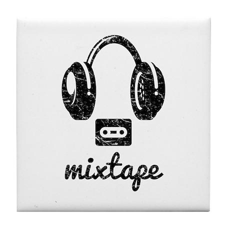 Mixtape Tile Coaster by Junark