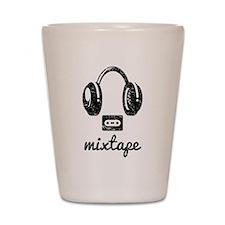 Mixtape Shot Glass