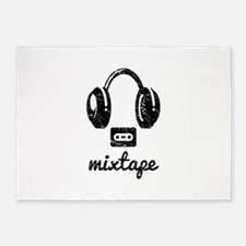 Mixtape 5'x7'Area Rug