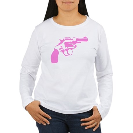 Pink Pistol Long Sleeve T-Shirt