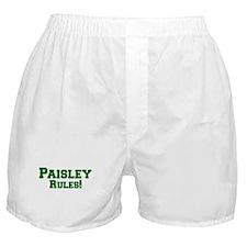 Paisley Rules! Boxer Shorts