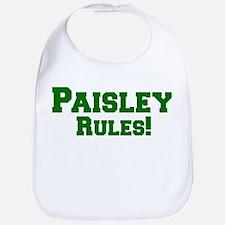 Paisley Rules! Bib