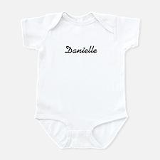 Danielle: Blue Heart Infant Bodysuit