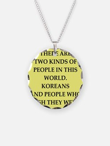 korea Necklace
