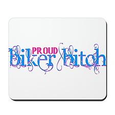 Proud Biker Bitch Mousepad