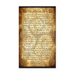 Wiccan Rede Rectangle Car Magnet