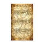 Wiccan Rede Sticker (Rectangle 10 pk)