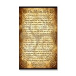 Wiccan Rede 20x12 Wall Decal