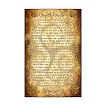 Wiccan Rede Mini Poster Print