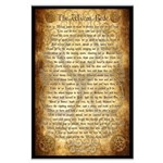 Wiccan Rede Large Poster
