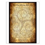 Wiccan Rede Small Poster