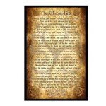 Wiccan Rede Postcards (Package of 8)