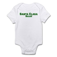 Santa Clara Rules! Infant Bodysuit