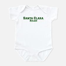 Santa Clara Rules! Infant Bodysuit