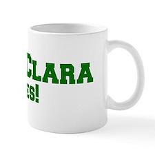 Santa Clara Rules! Mug