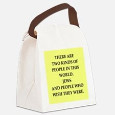 jews Canvas Lunch Bag
