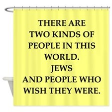 jews Shower Curtain