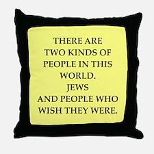 jews Throw Pillow