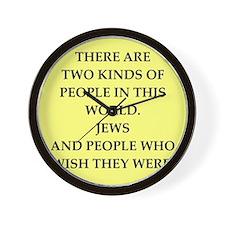 jews Wall Clock