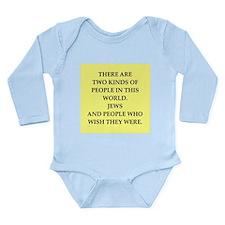 jews Long Sleeve Infant Bodysuit