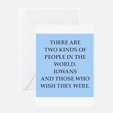 iowa Greeting Card