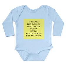 x Long Sleeve Infant Bodysuit