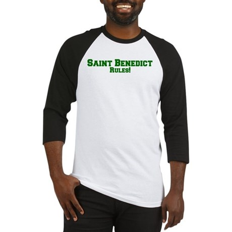Saint Benedict Rules! Baseball Jersey