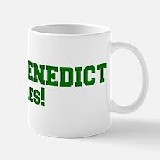 Saint Benedict Rules! Mug