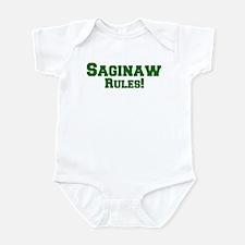 Saginaw Rules! Infant Bodysuit