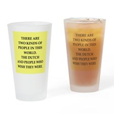 dutch Drinking Glass