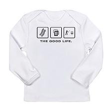 Disc Golf Long Sleeve Infant T-Shirt