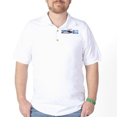 3 Pictures (2) Golf Shirt