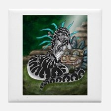 Feathered Serpent Tile Coaster