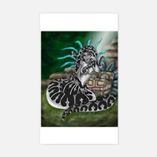 Feathered Serpent Rectangle Decal