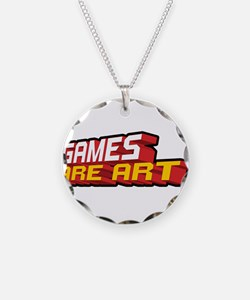Games Are Art Necklace