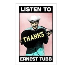 Ernest Tubb Postcards (Pkg. of 8)