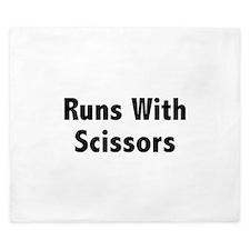 Runs With Scissors King Duvet