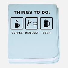 Disc Golf baby blanket