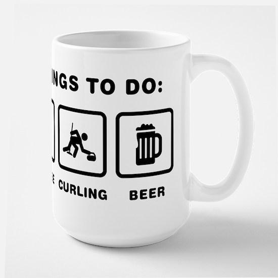 Curling Large Mug