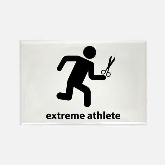 Extreme Athlete Rectangle Magnet