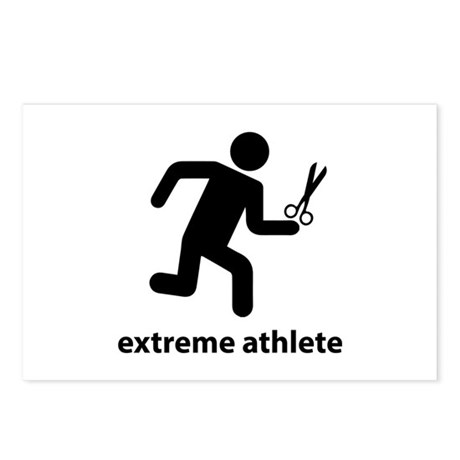 Extreme Athlete Postcards (Package of 8)