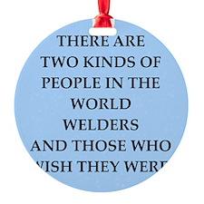 welder Ornament