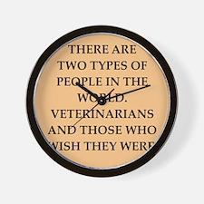 vets Wall Clock