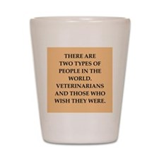 vets Shot Glass