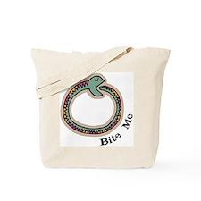 Bite Me Snake Tote Bag
