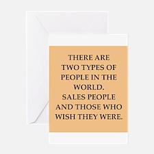 sales Greeting Card