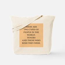 TENORS Tote Bag