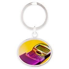 WAP mobile telephone - Oval Keychain