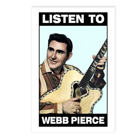 Webb Pierce Postcards (Pkg. of 8)